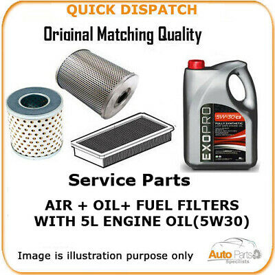 FOR TALBOT AIR OIL FUEL FILTERS  AND 5L ENGINE OIL TALBOT OEM QUALITY 2213 4180