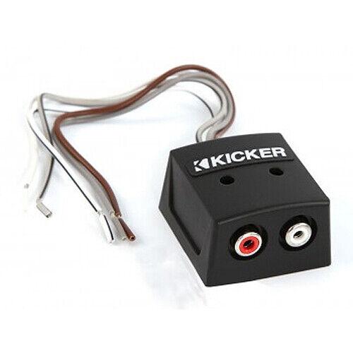 NEW KICKER CAR AUDIO KISLOC 2-CHANNEL CH SPEAKER TO RCA LINE-OUTPUT CONVERTER