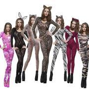 Leopard Print Catsuit