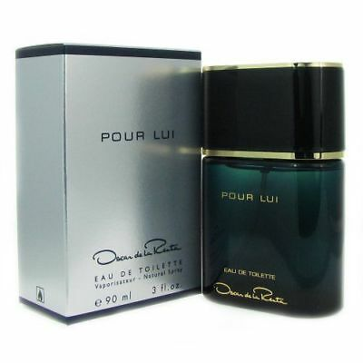 De La Renta Men Cologne (Pour Lui By Oscar De La Renta 3.0 Oz EDT Spray New In Box Sealed Cologne For Men )