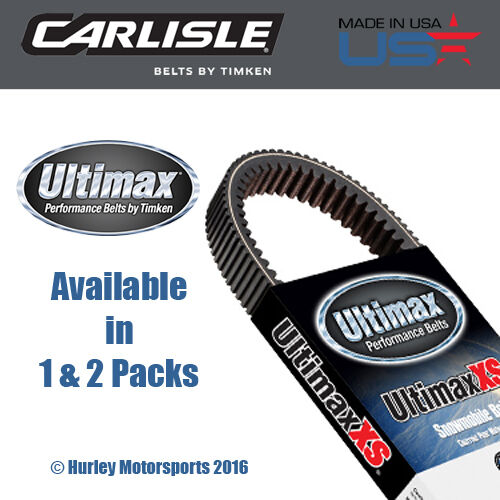 Carlisle Ultimax XS High Performance Snowmobile Belt - XS806