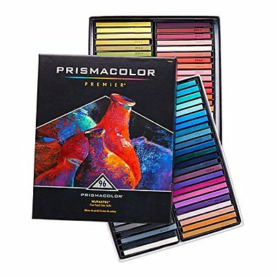 Prismacolor Premier NuPastel Firm Pastel Color Sticks, 96-Count