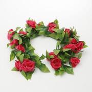 Silk Rose Buds