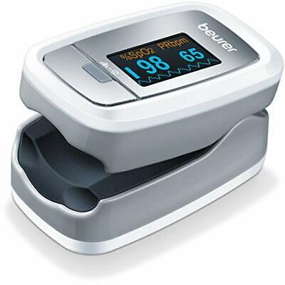 Beurer Po30 Fingertip Pulse Oximeter Medical Device Wgraphic Display 4 Colored