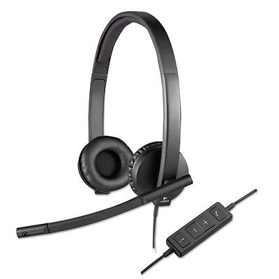 Logitech Usb H570e Over-the-head Wired Headset - 981000574