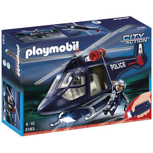 PLAYMOBIL-Police-Helicopter-with-LED-Spotlight-Police-5183