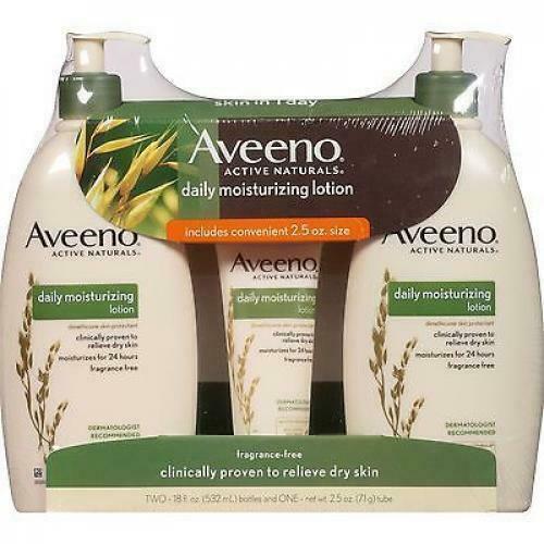 Aveeno Daily Moisturizing Lotion: Fragrance Free