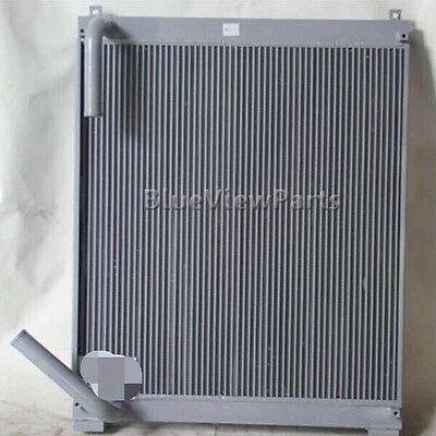 Aluminum Hydraulic oil cooler for Hitachi EX220-5 excavator