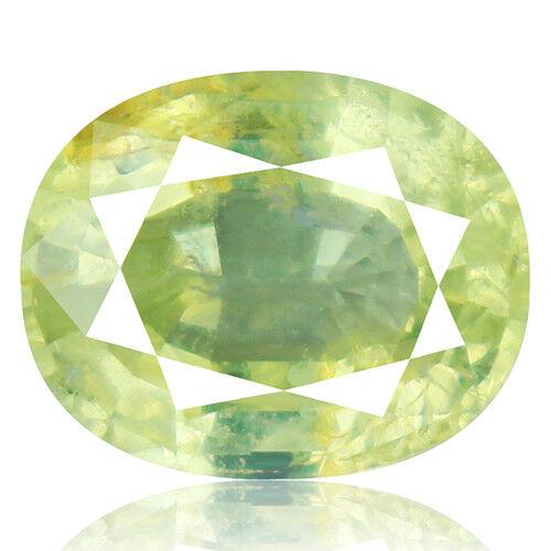 Tsavorite Family Garnet 5.69ct yellowish green color 100% natural earth mined