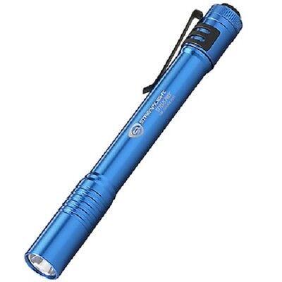 Streamlight 66122 Stylus PRO LED Pen Light Holster Blue 100 Lumens Warranty USA Streamlight Stylus Pen Light