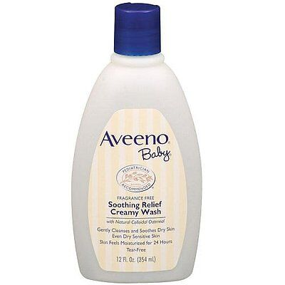 Aveeno Baby Soothing Relief Creamy Wash - 12 Ounce