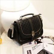 Leather Satchel Messenger Bag