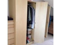 Ikea Pax Double Wardrobe great condition - Bargain must go today