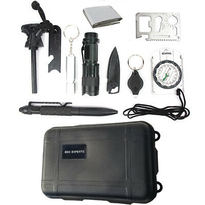 Emergency Survival Kit Outdoor Gear Tactical Tools Camping Hiking Hunting Field