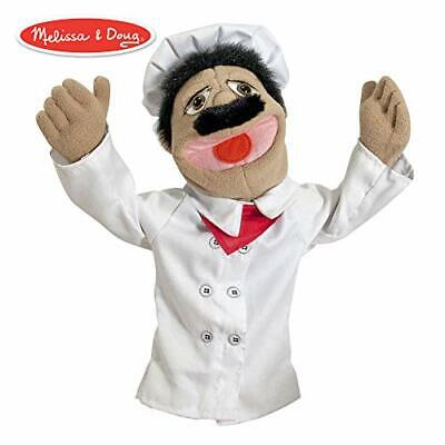 Melissa & Doug Chef Puppet with Detachable Wooden Rod (Puppets & Puppet Theaters](Melissa And Doug Puppet)