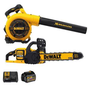 DEWALT DCKO667X1 60V MAX FlexVolt Blower and Chainsaw Combo