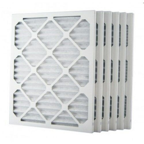 $5.49 each 20x25x1 MERV 8 Pleated AC Furnace Air Filters 6 Pack
