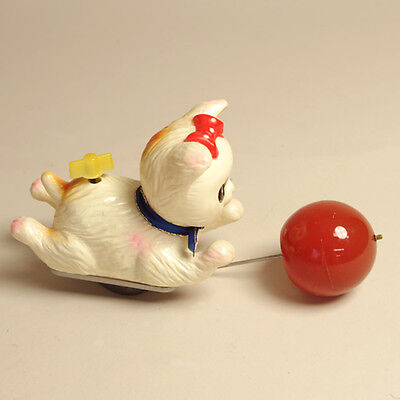Vintage Wind Up Toy Cat by Ono Toy Made In Japan Super rare