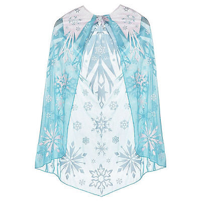 Frozen Elsa Deluxe Cape - Girls One size fits most - Elsa Costume Deluxe