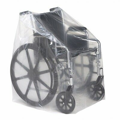 Roscoe Medical Wheelchair & Transport Chair Clear Covers 50x45 2pk (Ships Free)