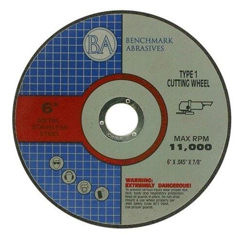 "6""x.045""x7/8"" Pro Metal Steel Cutting Cutoff Wheel 100"
