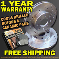Toyota Corolla 98 99 00 01 02 Brake Rotors and Pads New!