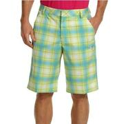 Mens Plaid Shorts 36