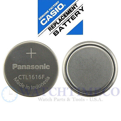 Panasonic CTL1616 CTL1616F Battery Casio G-Shock Pathfinder Wave Ceptor Pro Trek