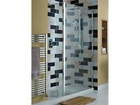 NEW Atlas recessed walk-in shower enclosure 1700 x 800 + shower tray