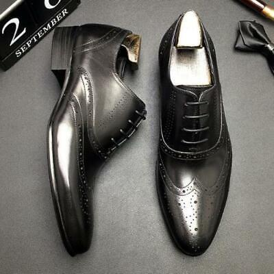 Details about  /Retro Mens Low Top Business Faux Leather Shoes Round Toe Oxfords Slip on Party L