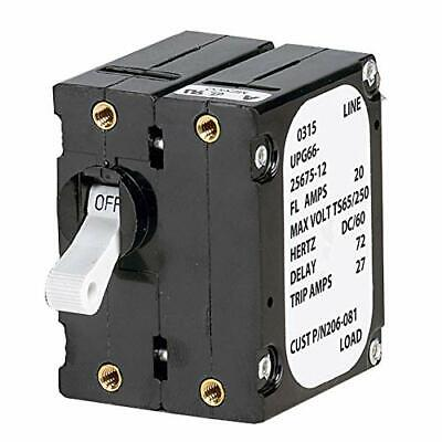 Paneltronics 3930047 A Frame Magnetic Circuit Breaker - 15 Amps - Double Pole