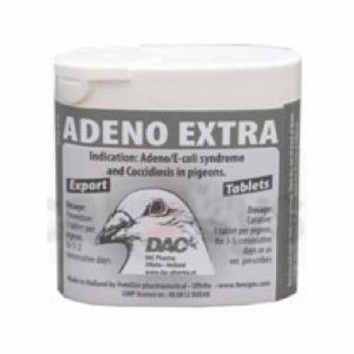 Pigeon Product - Adeno Extra Tablets - broad-spectrum - by DAC