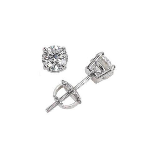 14k screw back earrings ebay. Black Bedroom Furniture Sets. Home Design Ideas
