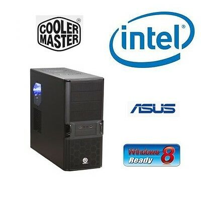 INTEL I7 3770K QUAD CORE UNLOCKED CPU ASUS H61 MOTHERBOARD 16GB RAM BAREBONES PC