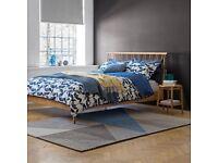 ercol for John Lewis SHALSTONE Bed Frame Oak King Size