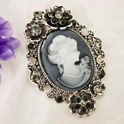 Antique Black Cameo