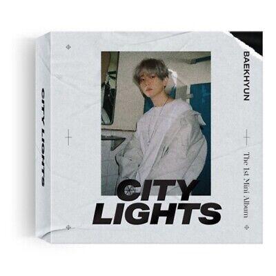 EXO Baekhyun-[City Lights]1st Mini Album Kihno Kit+Booklet+PhotoCard+Gift