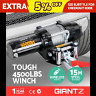 4WD Car & Truck Tow Electric Winches