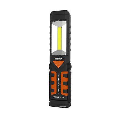NEBO Workbrite-2 Rechargeable 220 Lumen LED Flashlight+Magnetic Work Light