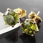 Emerald Stud Handcrafted Earrings