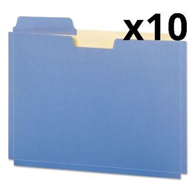 File Folder Pocket 0.75 Expansion Letter Size Assorted 10pack Pack Of 10