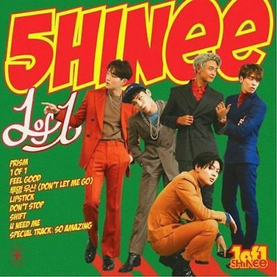 SHINEE [1 OF 1] 5th Album CD+POSTER+Photo Book+Booklet+Photo Paper  SEALED