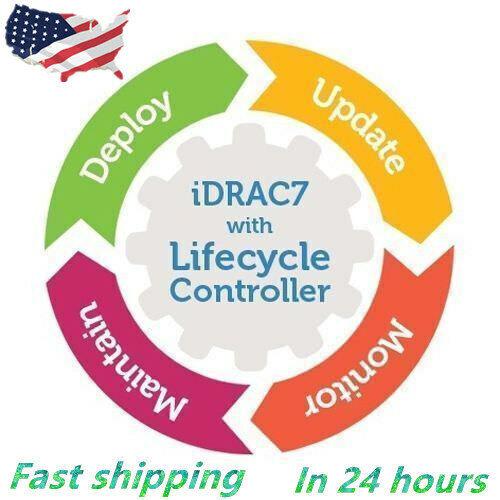 iDRAC7 iDRAC8 iDRAC9 Enterprise License for Dell 12th 13th 14th Server FAST Mail