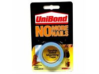 Unibond No More Nails Double Sided Mounting Tape 19mm x 1.5Mtr (Discount pack of 10)