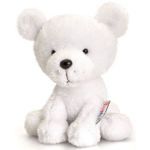 PIPPINS POLAR BEAR BY KEEL TOYS KORIMCO  BNWT 14CMS