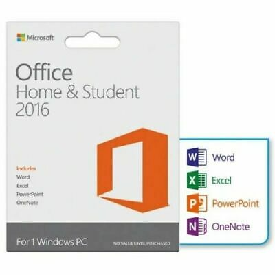 Microsoft Office Home and Student 2016 for Windows 1 PC License + USB  