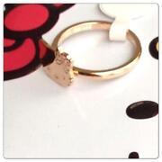 Hello Kitty Gold Ring