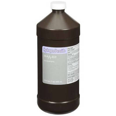 LOT OF 36! Hydrogen Peroxide 3% 16oz Solution LARGE Bottle First Aid (Aid 16 Ounce Bottle)