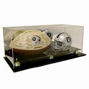 Mini-NFL-Helmet-and-Full-Size-Football-Acrylic-Display-Case-AD52