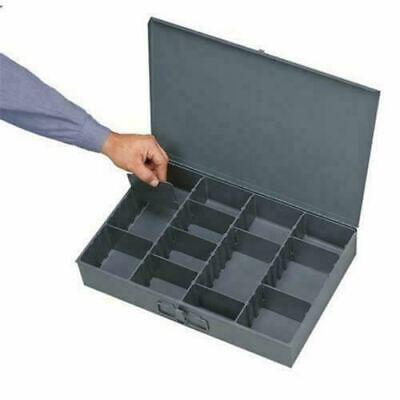 Metal Adjustable Hole Storage Bolt Bin Cabinet Tray Nuts Bolts Fasteners Screws